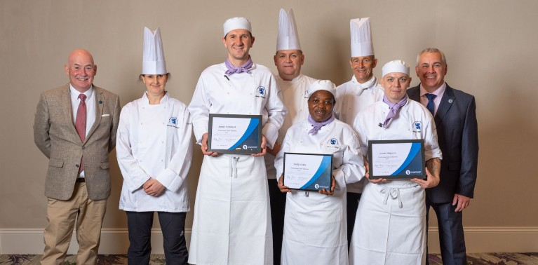 Professional Cookery Students Stun<br> at St Andrews Sustainable Lunch