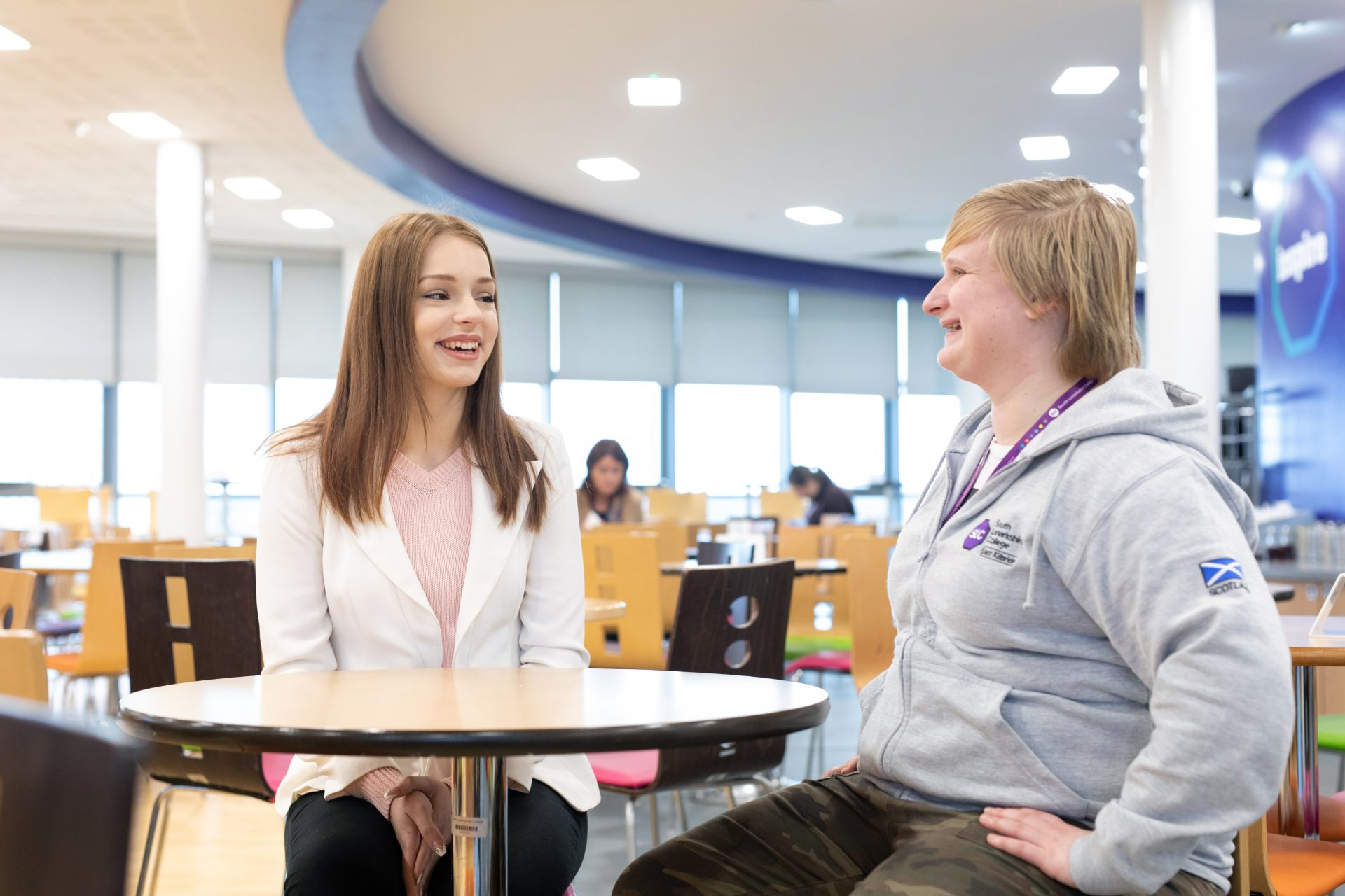 Tackling Student Poverty at South Lanarkshire College