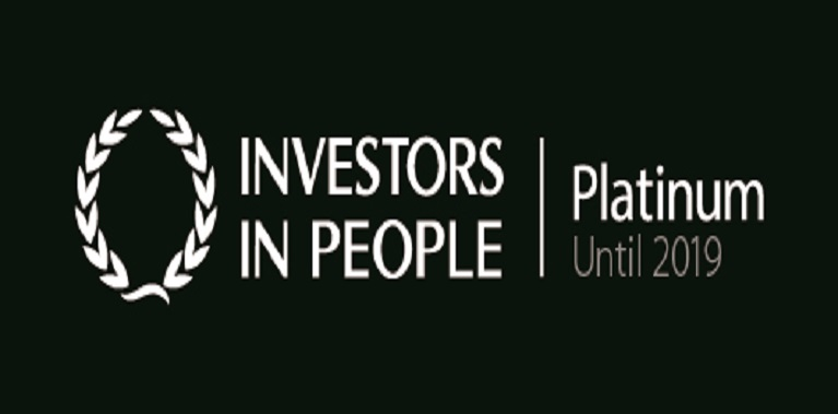 We're the first IiP Platinum College in the UK