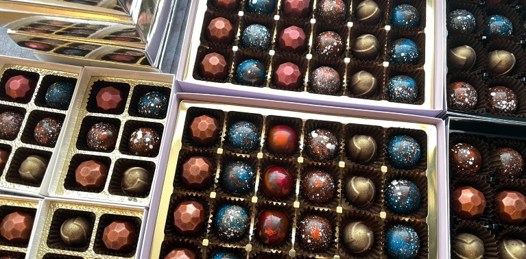Life is Like a Box of Chocolates <br>for Student Anna Sanina