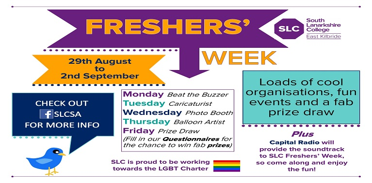 Get Set for Freshers' Week 2016